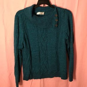Christopher and Banks sweater small